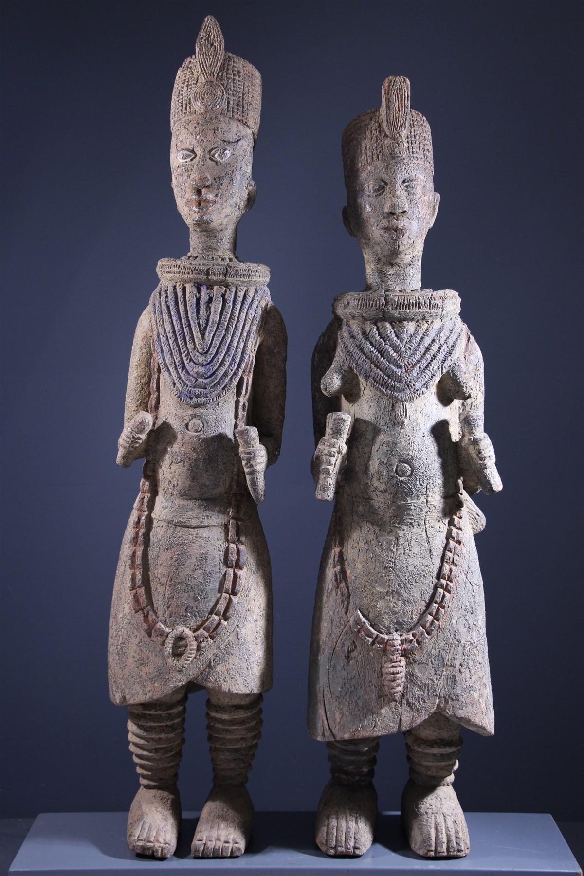 Ife figures - African art