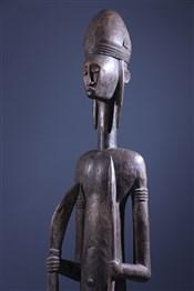 Statues africainesdignitary Bambara