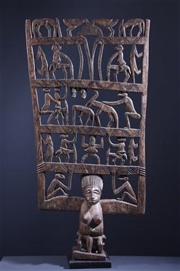 Senoufo Kwonro procession ritual panel