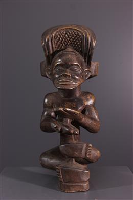 African art -  Chibinda Ilunga Chokwe figure