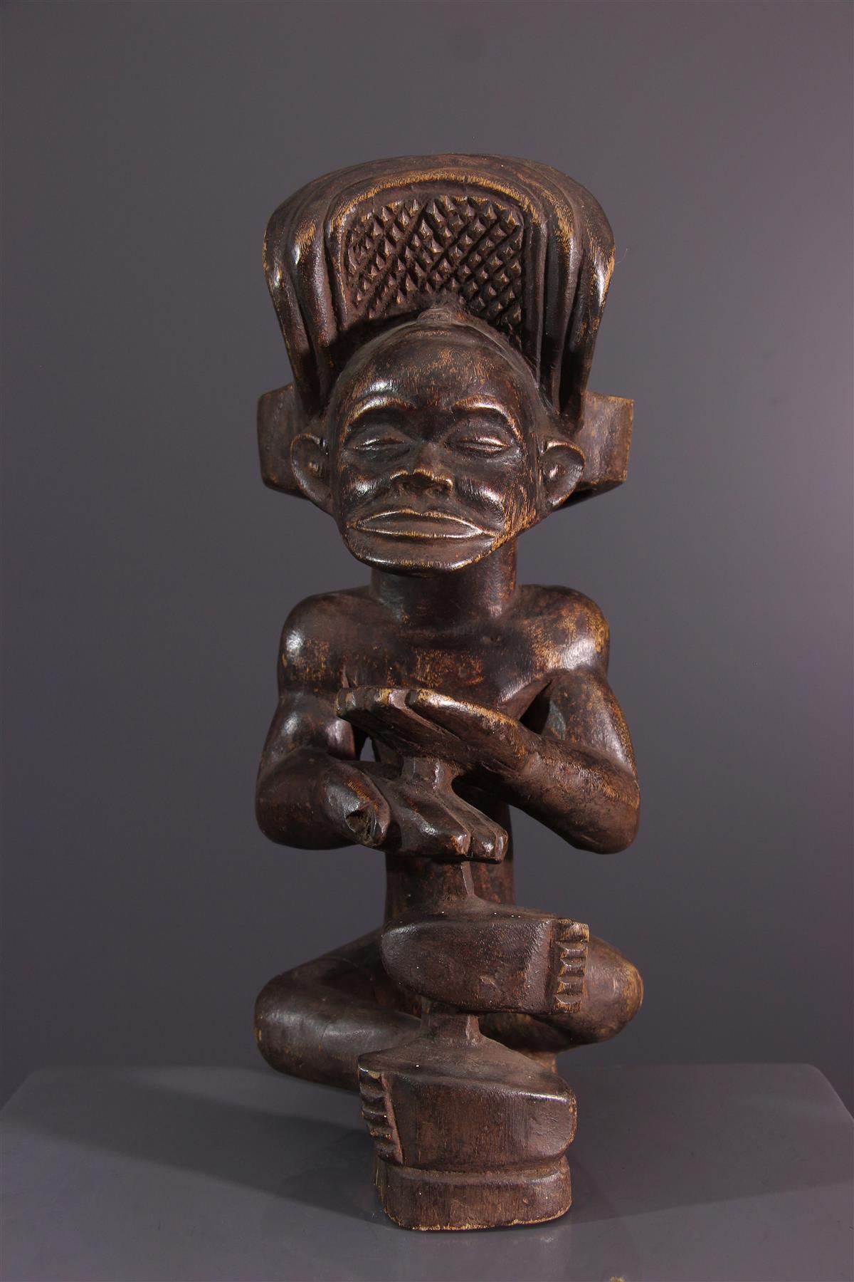 Chibinda Ilunga Chokwe figure - African art