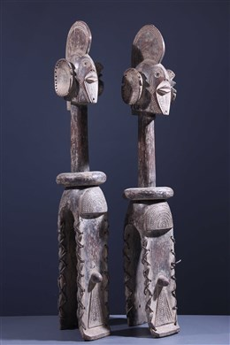 Pair of Shoulder Masks Sukwava Wurkum