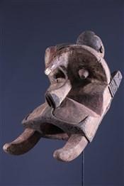 Masque africainWawa Ogdobo Enyi Mask