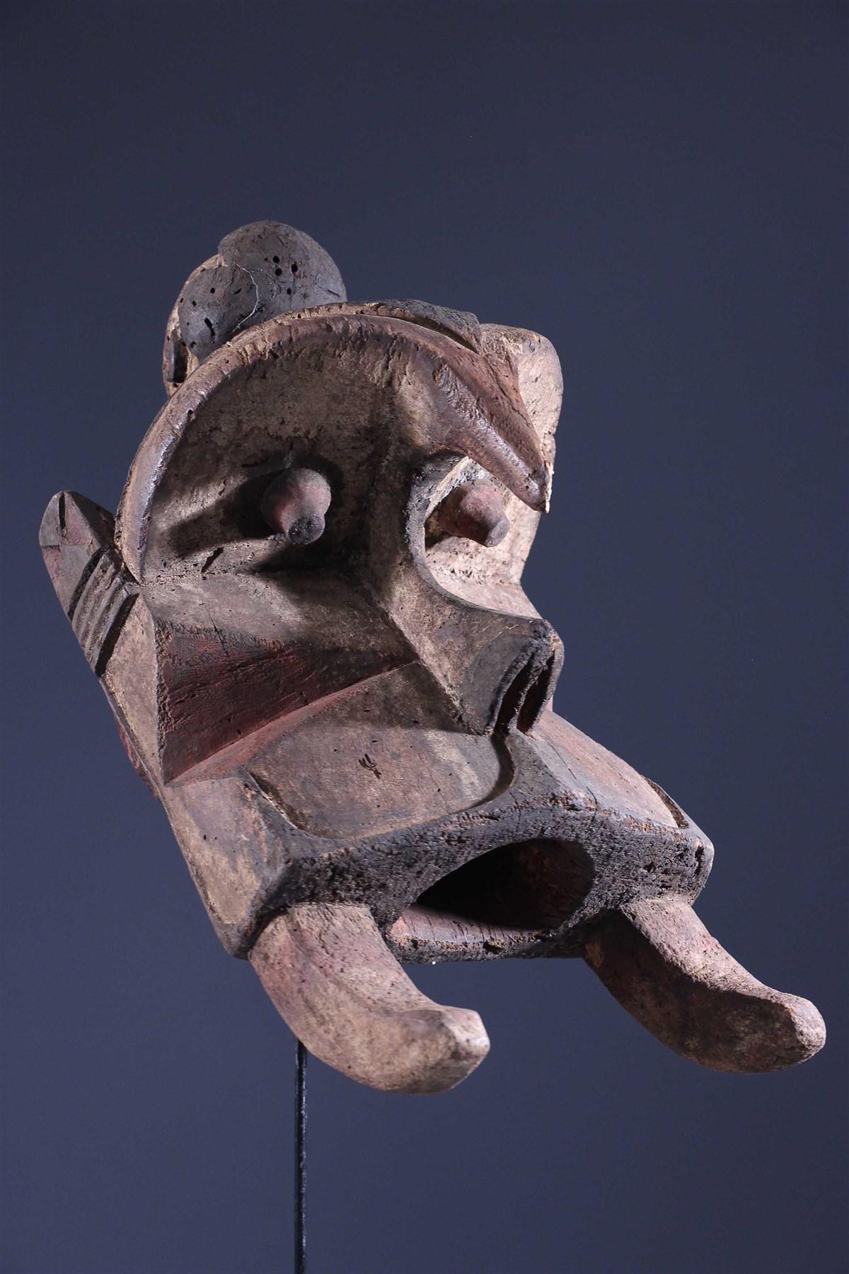 Wawa Ogdobo Enyi Mask - African art
