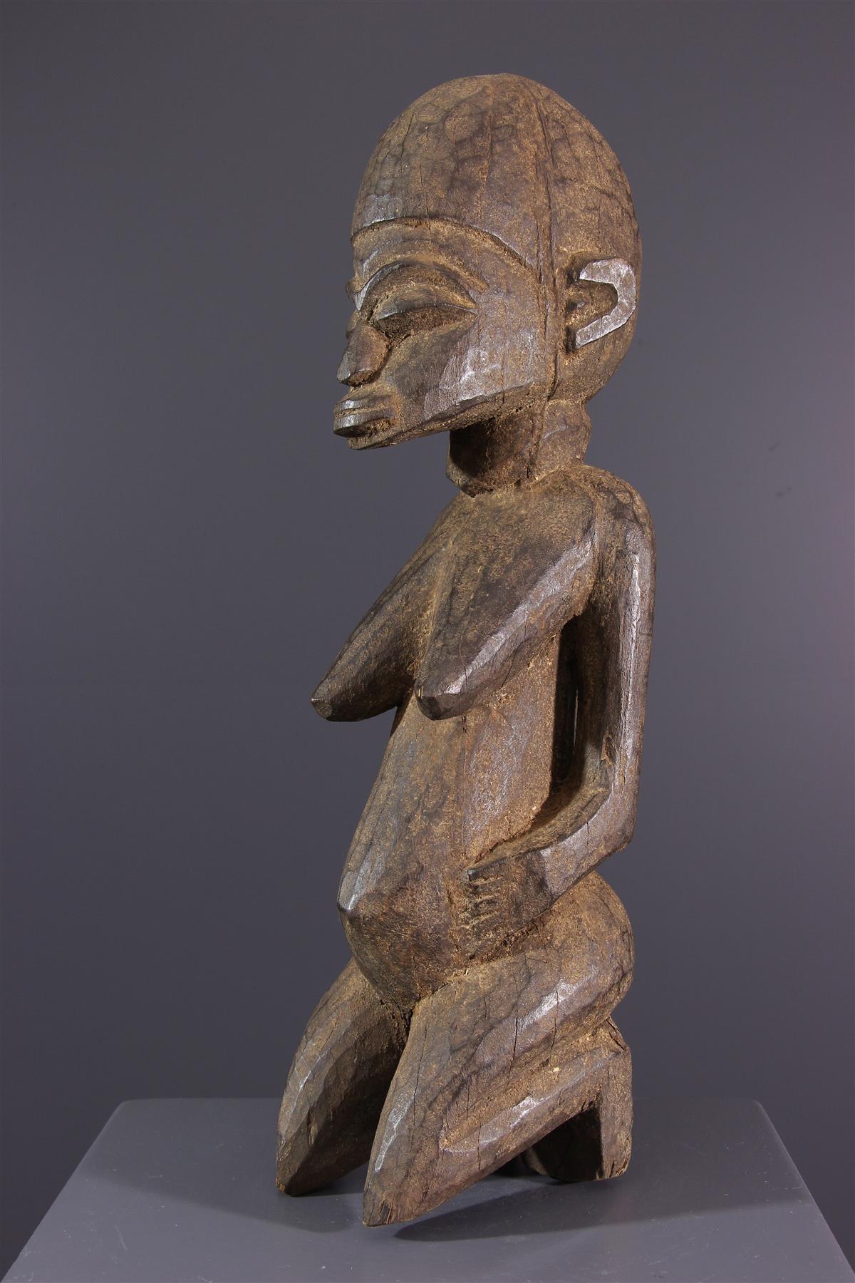 Lobi Bateba Statues - African art