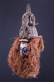 Masque africainYaka Kholuka Mask