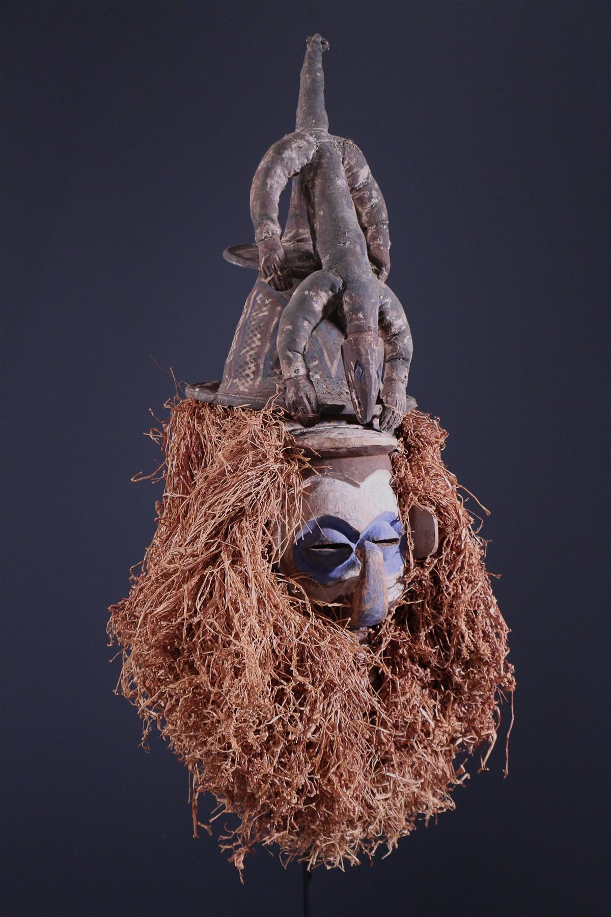 Yaka Kholuka Mask - African art