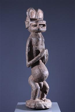African art - Monkey Baoule Gbekre