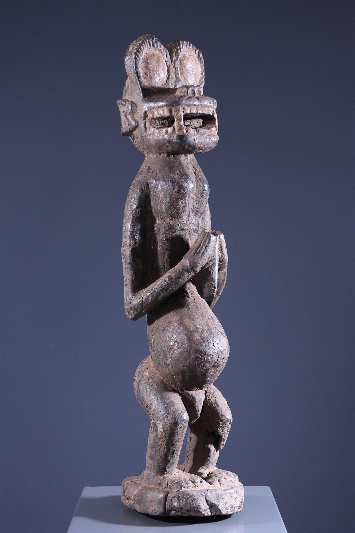 Baoulé Gbekre Monkey - African art