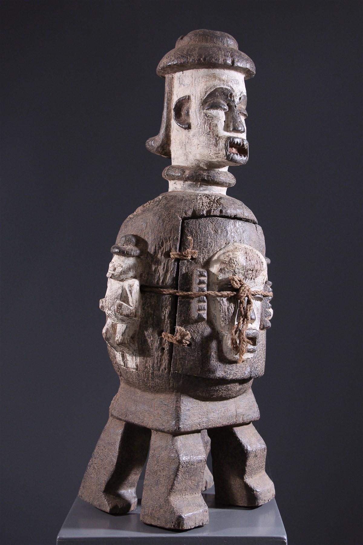 Reliquary anthropomorphe Urhobo - African art