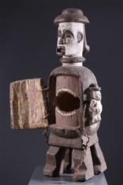 Pots, jarres, callebasses, urnesReliquary anthropomorphe Urhobo