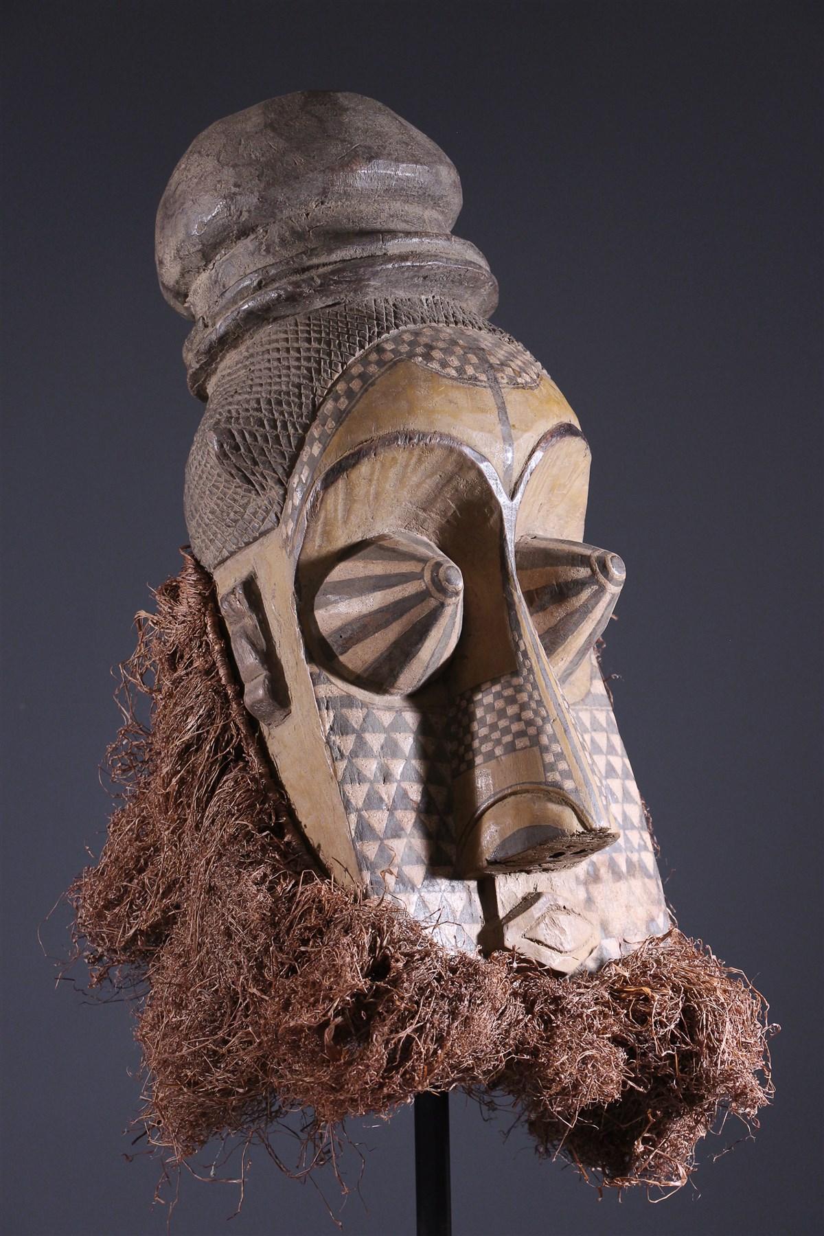 Masque Kuba Pwoom Itok - African art