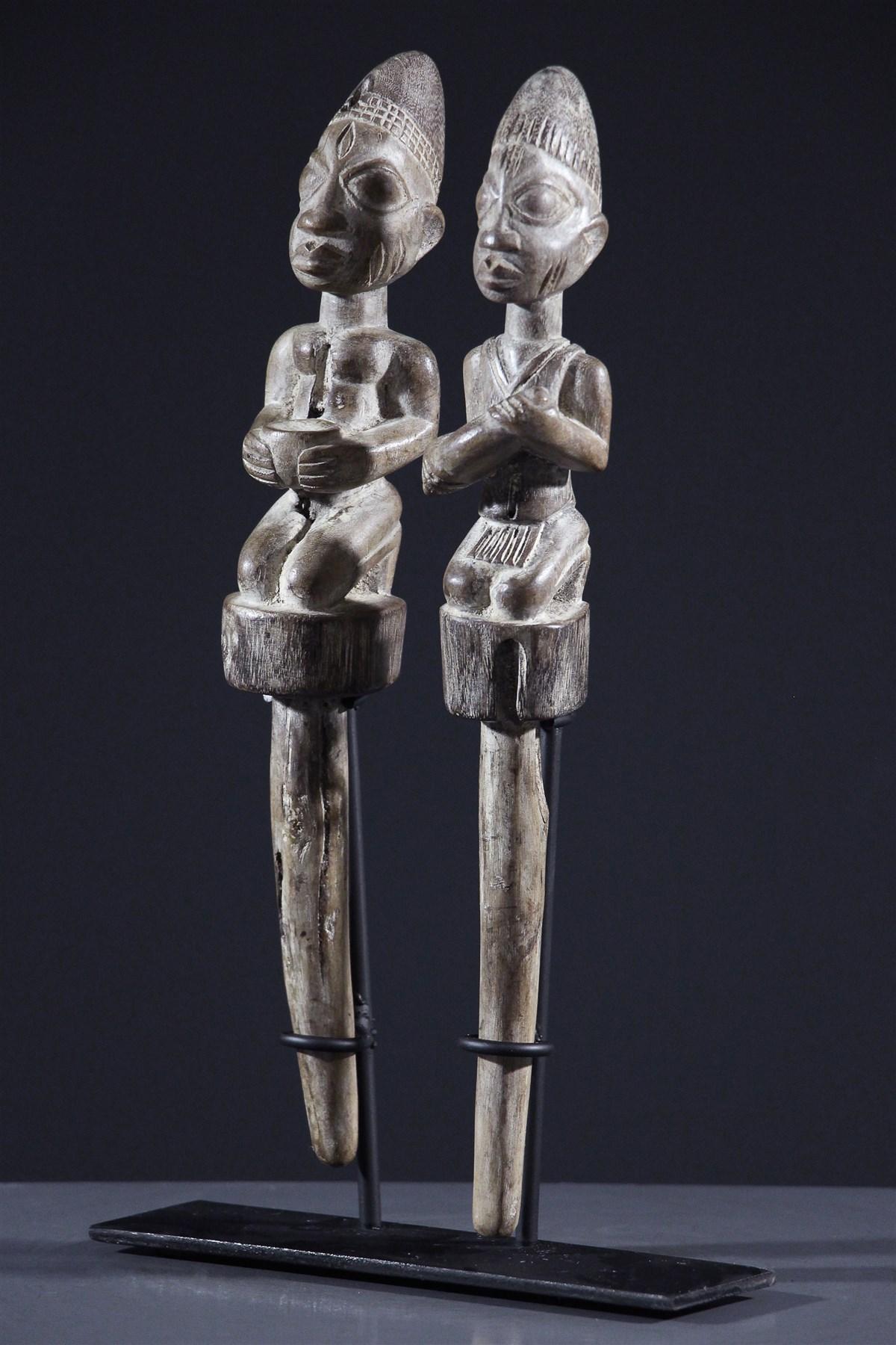 Sceptres Shango - African art