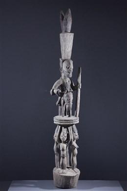 Yoruba pillar