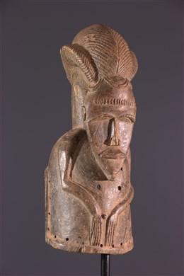Mask Baoulé heaume