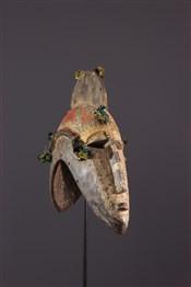 Masque africainMask helmet janiforme Markha