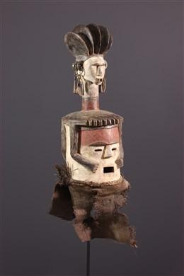Janiform reliquary Ambete Mask
