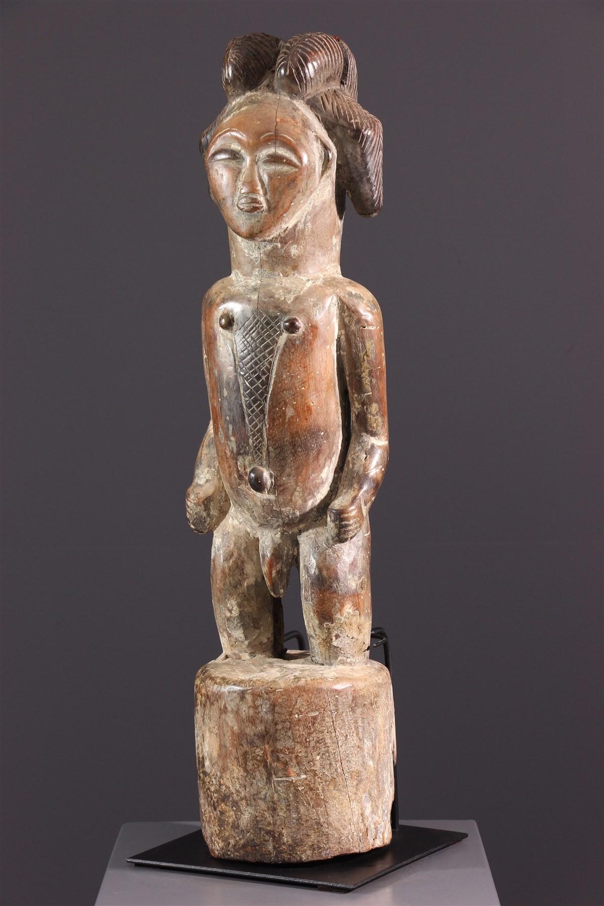 Punu Tutelary Figure - African art