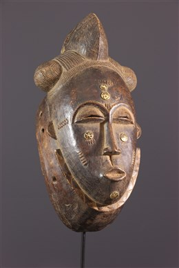 African art - Yaouré Mask