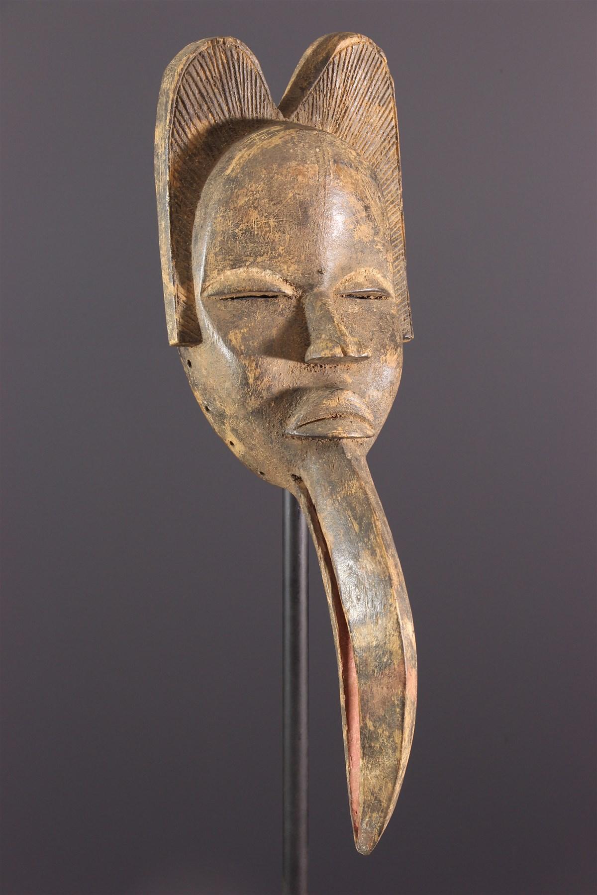 Dan Maou Mask - African art