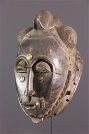 Masque africainMblo Baoulé Mask