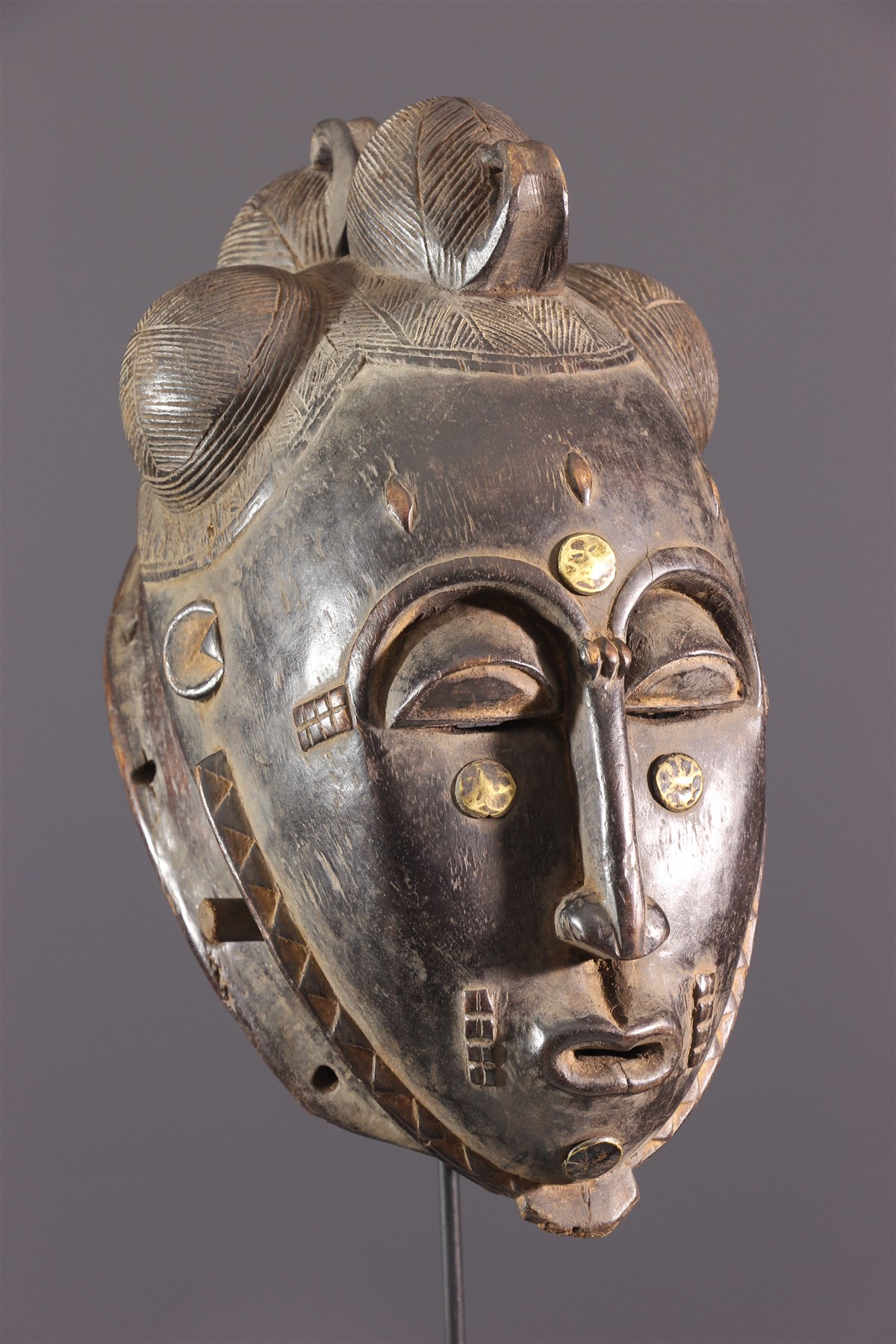 Mblo Baoulé Mask - African art