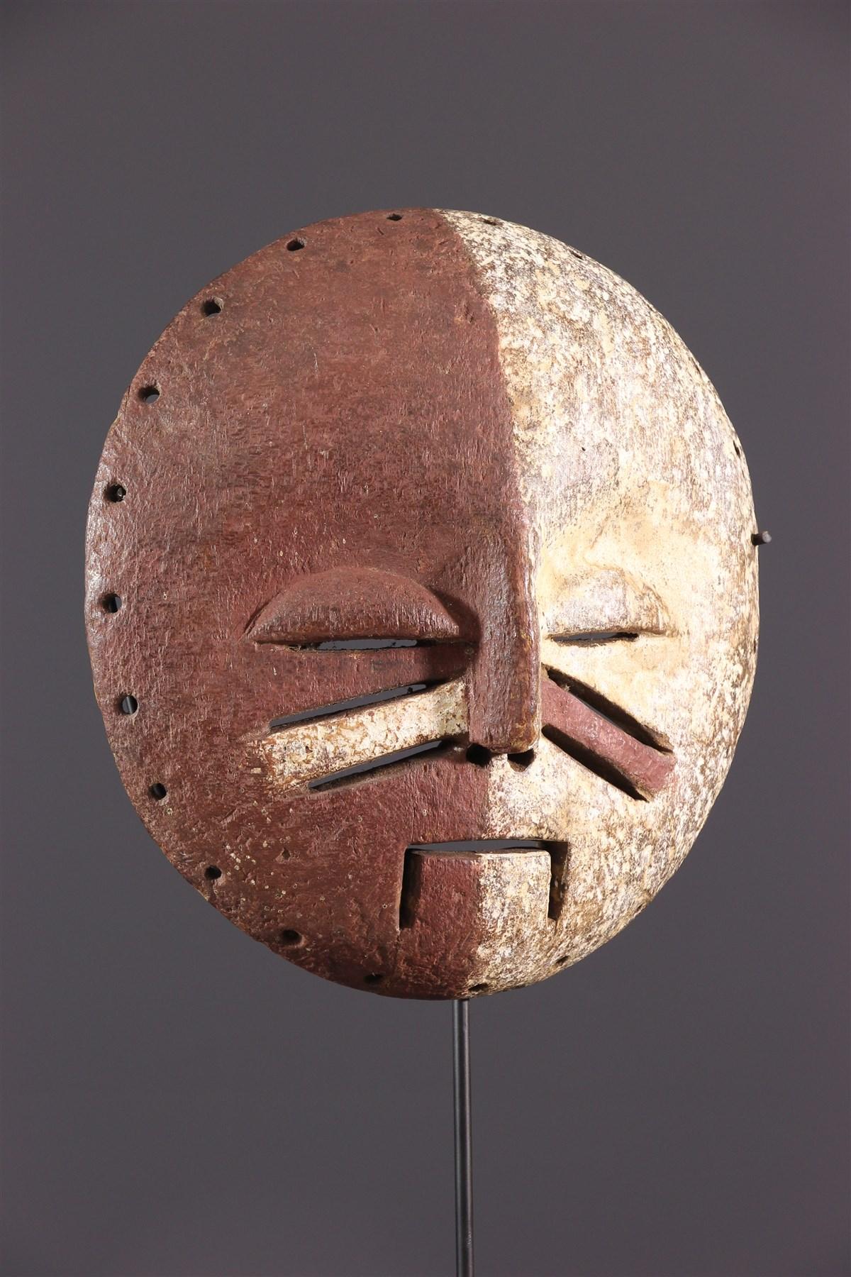 Yela two-tone mask - African art