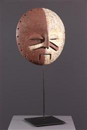 Masque africainYela two-tone mask