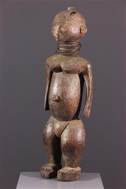 African art - Female figure Ngbaka