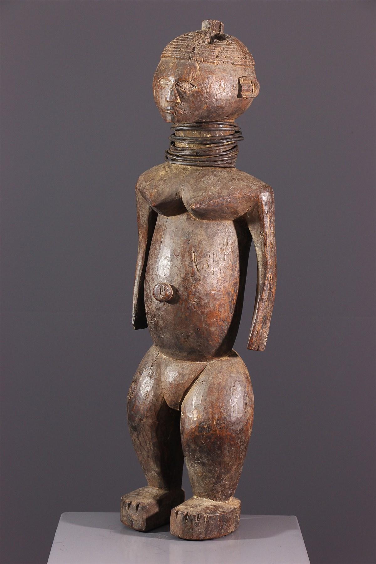 Female figure Ngbaka - African art