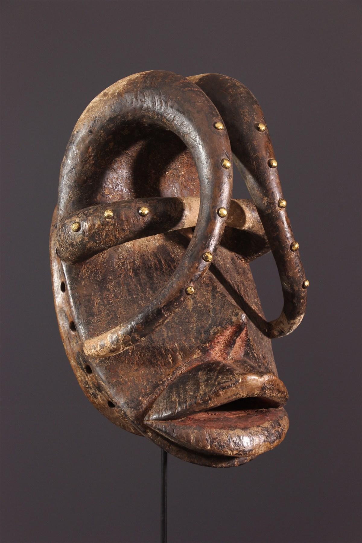 Glé Bété Dance Mask - African art
