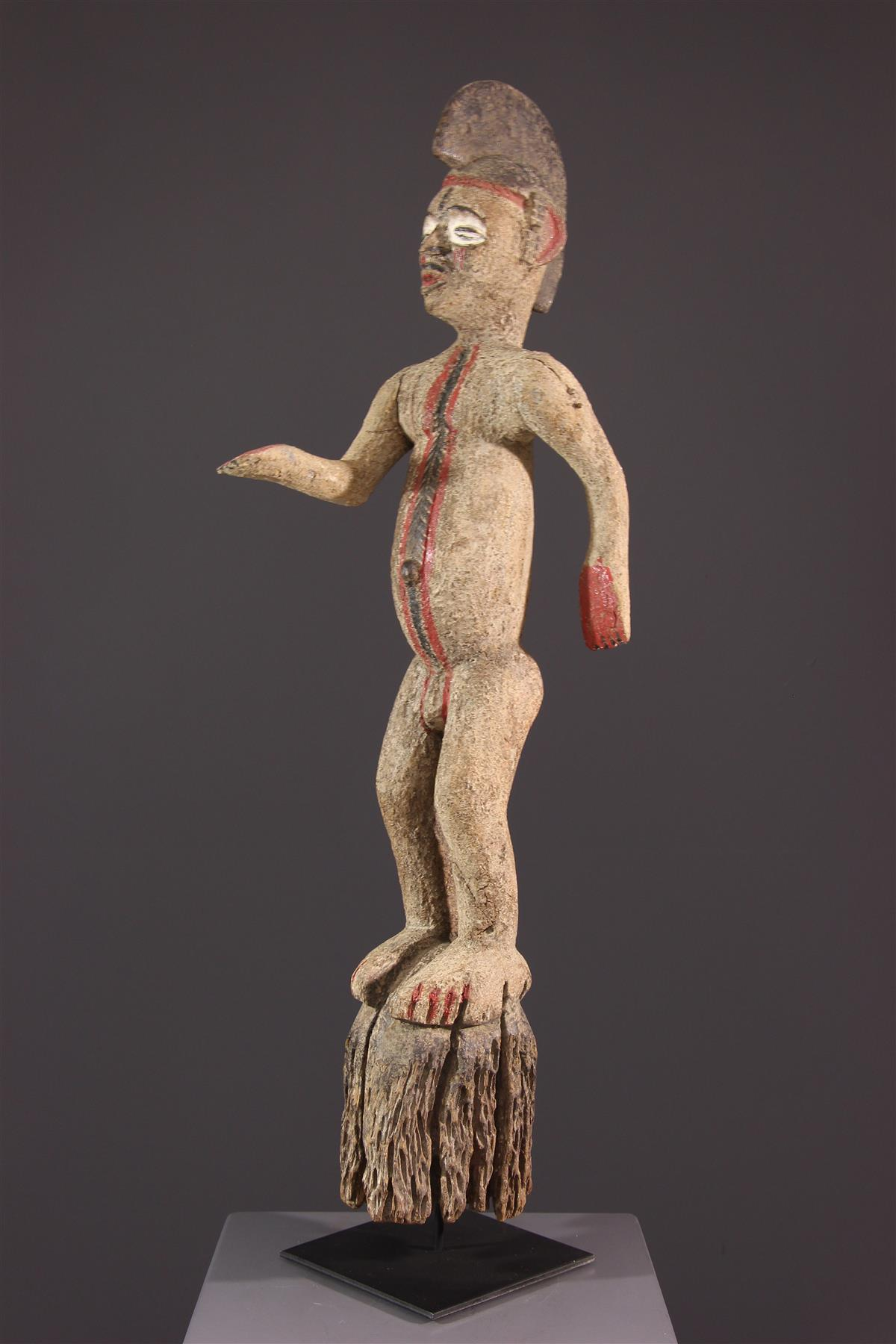 Statue of Igbo divinity - African art