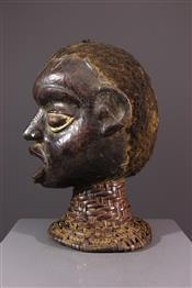 Masque africainCrest Ekoi/Ejagham Mask