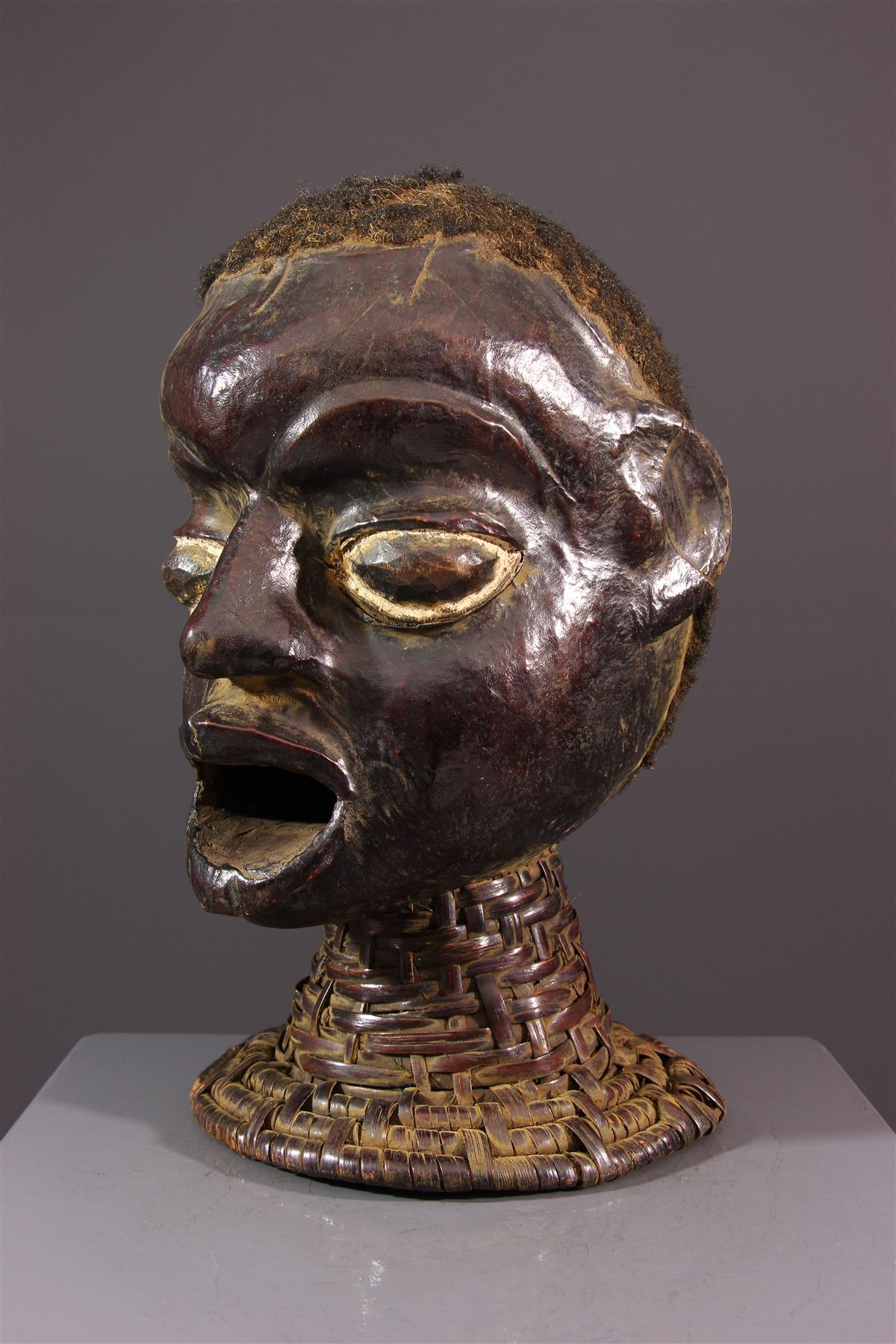Crest Ekoi/Ejagham Mask - African art