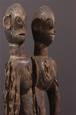 Janiform Mumuye Statue