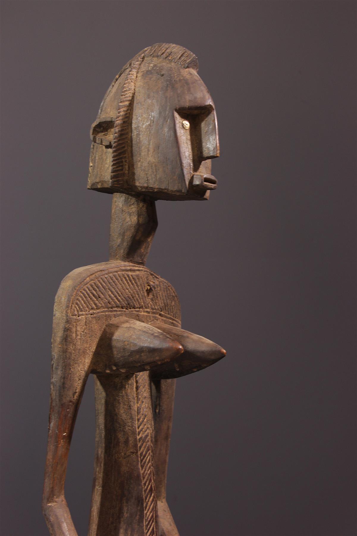 Female figure Bambara Dyoneni, Nyeleni - African art