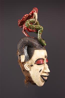 Danse Zaouli s Gouro Gu Mask