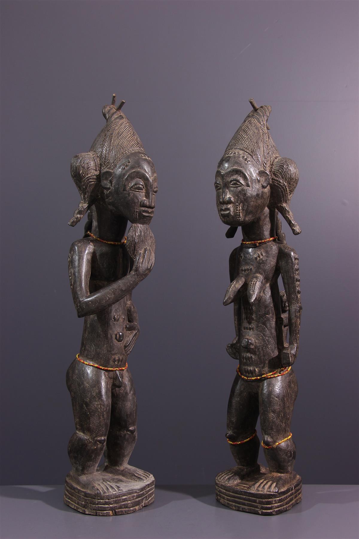 Baoule figures - African art