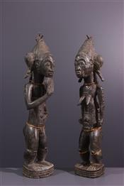 Statues africainesBaoule figures