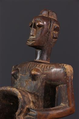 African art - Gbene figurative cup, Koro