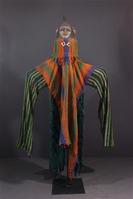African art - Gelede Yoruba Mask-Heaume
