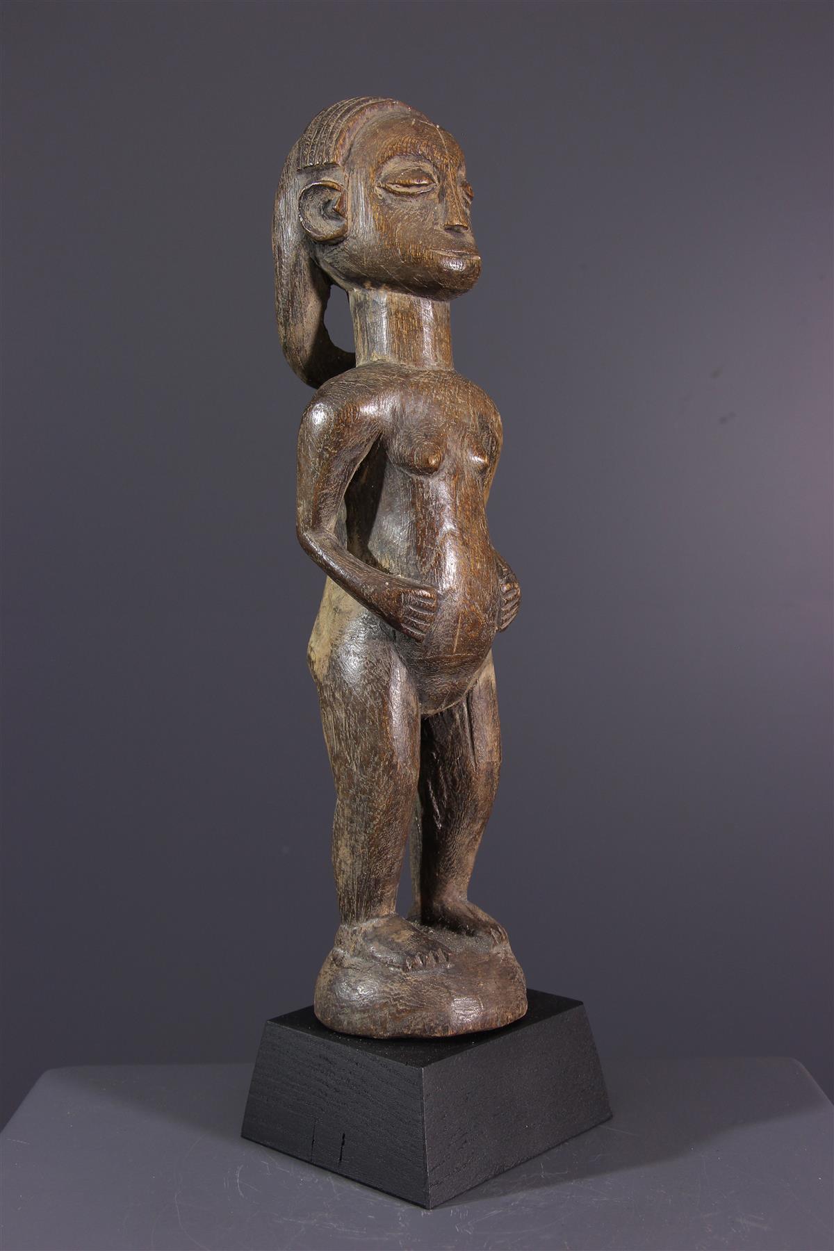 Statuette Ovimbundu - African art