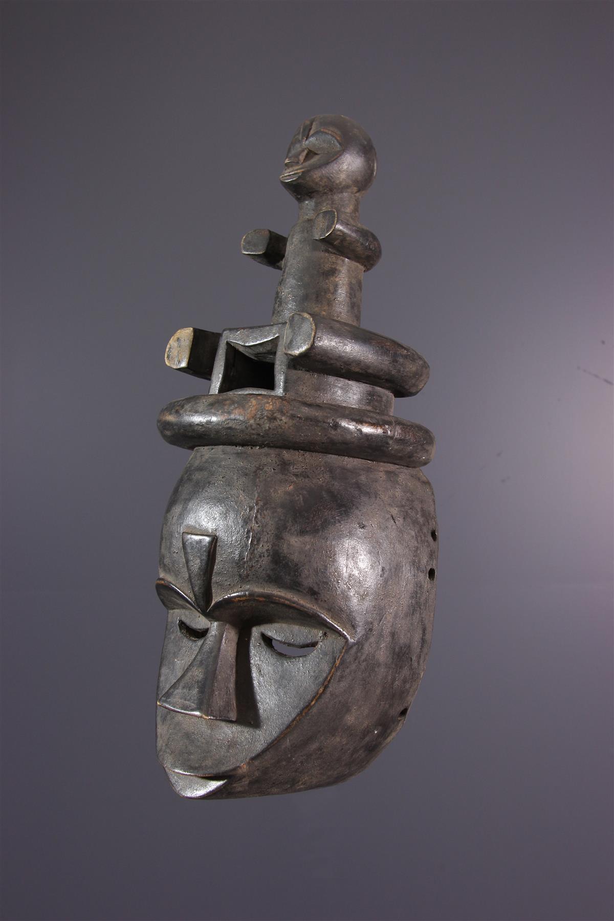 Masque Eket - African art