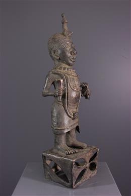 Bronze Benin statue