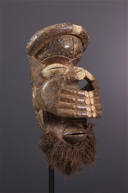 Polychrome Bété-Guéré Mask