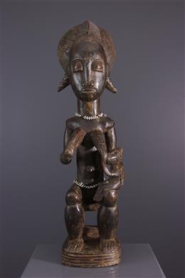 Maternity statue Asia Usu Baoulé