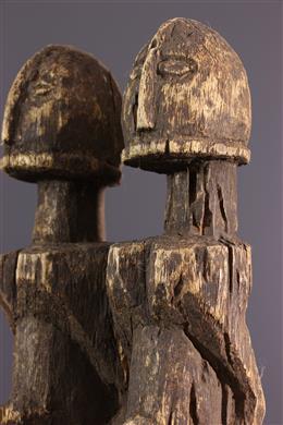African art - Dogon couple figures