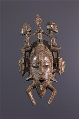 African art - Mask Senoufo Kpéllié, Kpeliyee
