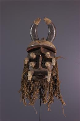 Warrior Mask - Guéré - Bété