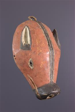 Chokwe Ngulu Zoomorphic Mask